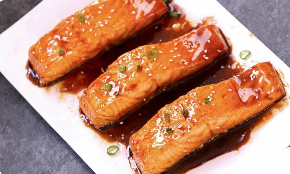 Salmon Teriyaki Meal
