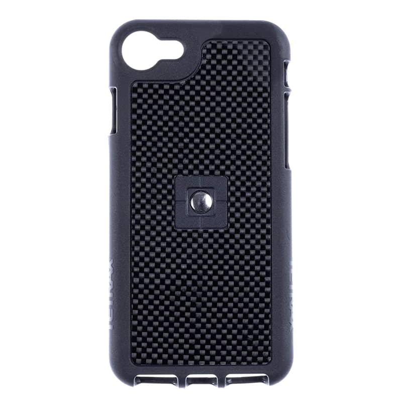 Tetrax XCase voor Apple iPhone 7 & 8 Clip Carbon