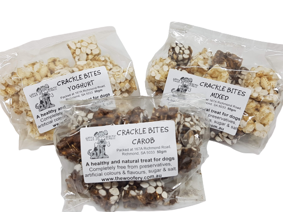 Crackle Bites - 50gm bag