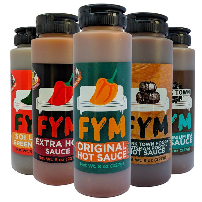 Want a free bottle of sauce?
