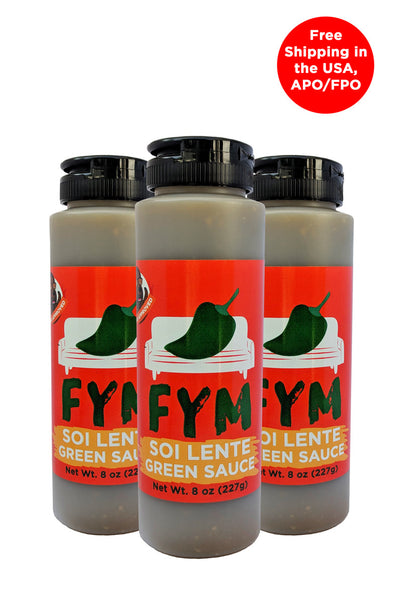 FYM Green - 8 oz 3 pack