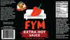 FYM Extra Hot - 8 oz 3 pack