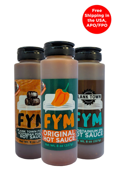 FYM Beer Variety - 8 oz 3 Pack