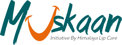 Muskaan logo, a Himalaya Lip Care initiative