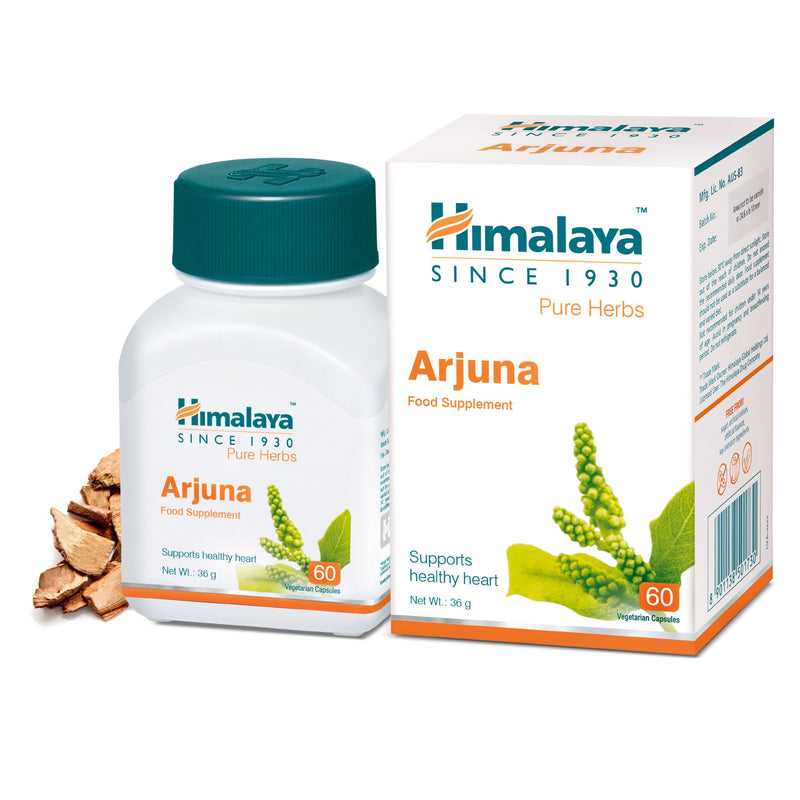 Himalaya Arjuna 60 Capsules - Supports Healthy Heart