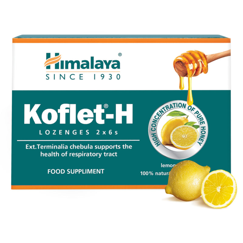 Himalaya Koflet-H Cytryna - Supports the Health of Respiratory Tract