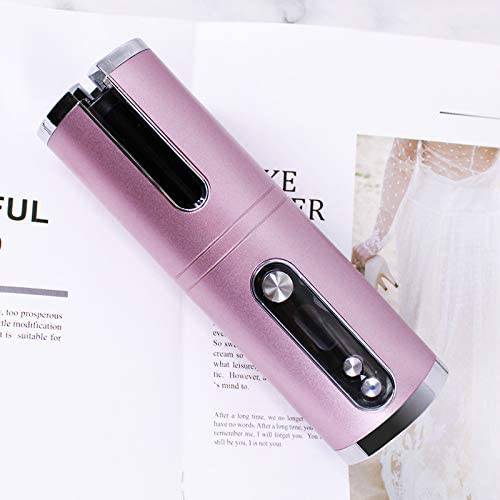 HomeShopHub Indigo Zeus Haircare Rechargable Wireless Hair Curler