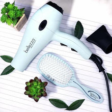 Load image into Gallery viewer, HomeShopHub Lime Aphrodite Haircare Seafoam Blue Bellezza Blowout Kit | 1875W Lightweight Blow Dryer, Paddle Brush, &