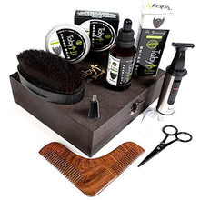 Load image into Gallery viewer, HomeShopHub Magenta Misty Haircare Beard Grooming and Trimming Set for Men