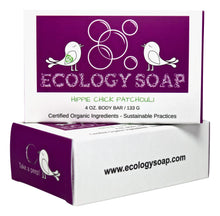 Load image into Gallery viewer, HomeShopHub Olive Perses Bodycare Ecology Soap Hippie Chick Patchouli Body Bar