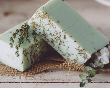 Load image into Gallery viewer, HomeShopHub Orange Theia Bodycare Eucalyptus Thyme Handmade Organic Soap