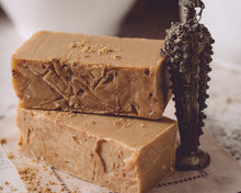 Load image into Gallery viewer, HomeShopHub Orange Theia Bodycare Frankincense Organic Handmade Soap
