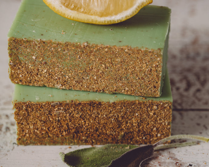 HomeShopHub Orange Theia Bodycare Lemon Verbena Organic Handmade Soap