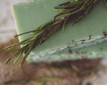 Load image into Gallery viewer, HomeShopHub Orange Theia Bodycare Rosemary Mint Handmade Organic Soap