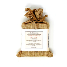 Load image into Gallery viewer, HomeShopHub Red Baobab Bodycare Peppermint FACE & BODY CLEANSER BAR  (VEGAN) + Mesh Scrub