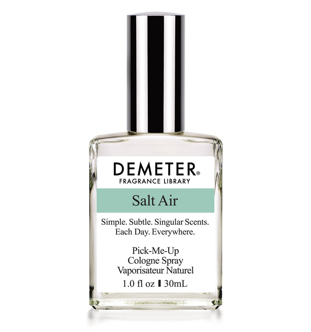 HomeShopHub White Smudge Bodycare Demeter 1oz Cologne Spray - Salt Air