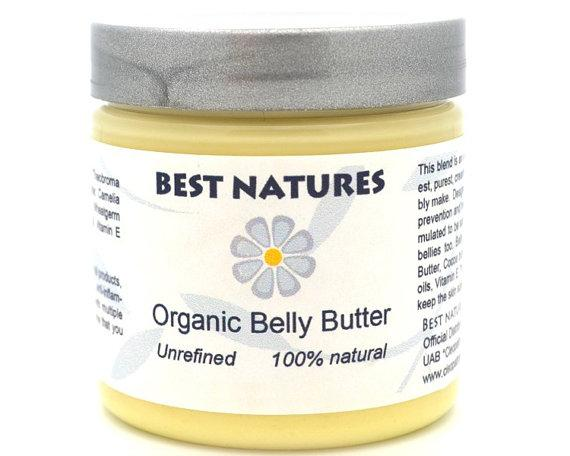 HomeShopHub Yellow Poppy Bodycare Organic Belly Butter - beyond preventing stretch