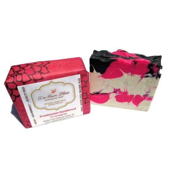 HomeShopHub Yellow Shadow Bodycare Frankincense Sandalwood Soap