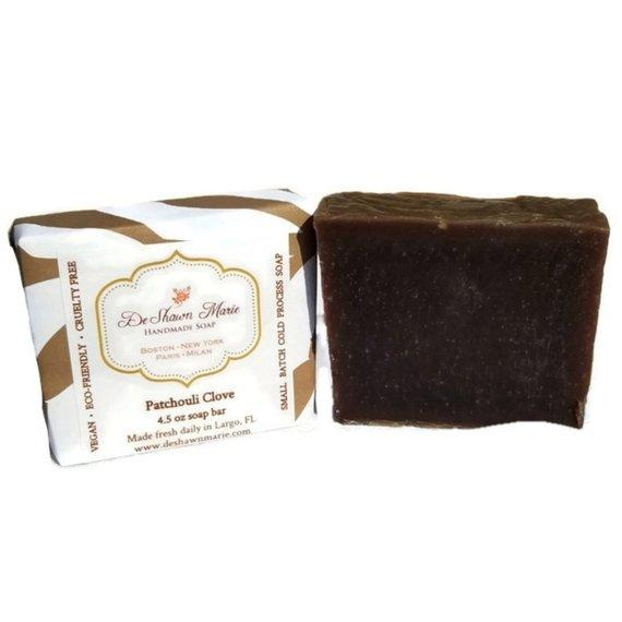 HomeShopHub Yellow Shadow Bodycare Patchouli Clove Soap