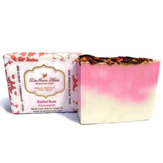 HomeShopHub Yellow Shadow Bodycare Perfect Rose Soap