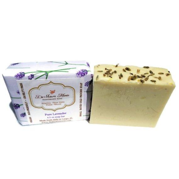 HomeShopHub Yellow Shadow Bodycare Pure Lavender Soap