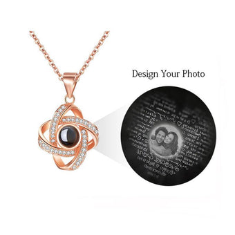 Necklace with Hidden Love Words for Women-VLT04
