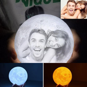 Customised Printing 3D Moon Light-VLT07