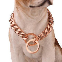 Pet Collar Chain Necklace -  Dazzling Waves