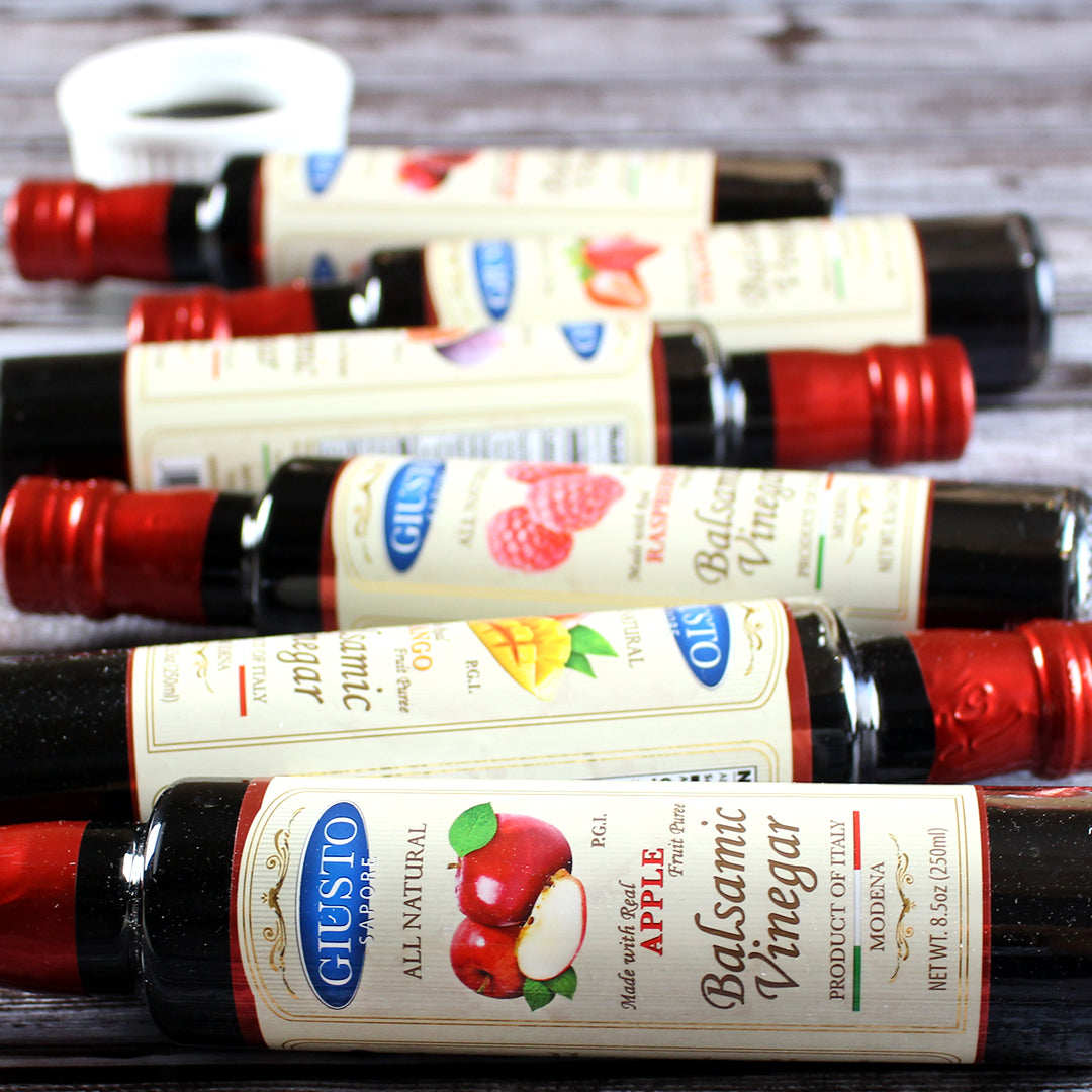 Infused Italian Balsamic Vinegars by Giusto Sapore