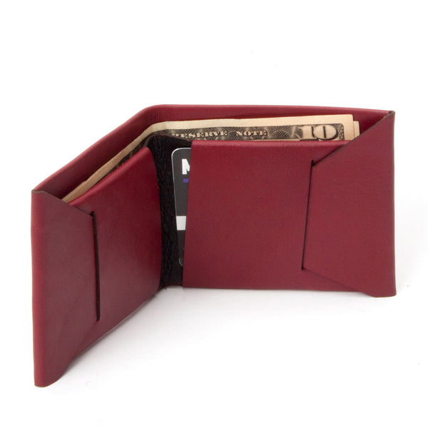 Bifold Wallet - Oxblood
