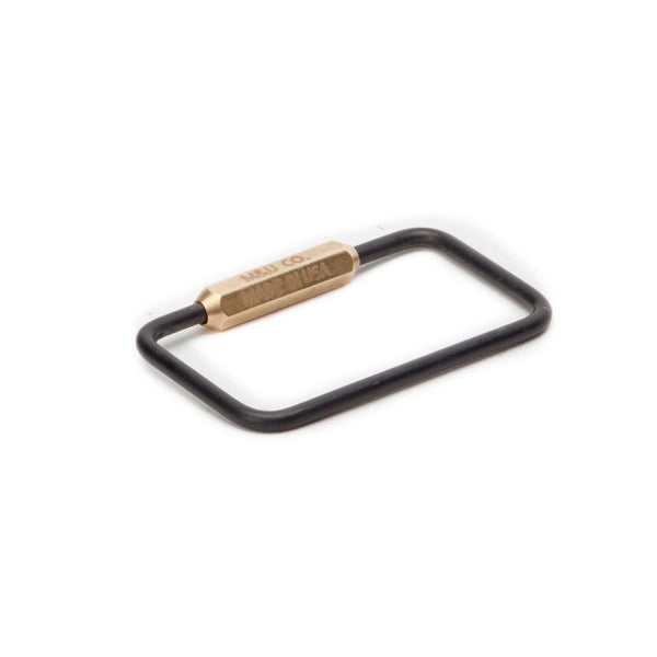 Rectangle Keyring – MBO
