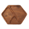 Solid Walnut Hex Tray