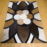 King - Handmade Animal Hide Area Rug - 3' x 4' - The Loom