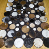 Moon - Handmade Animal Hide Area Rug - 4' x 6' - The Loom