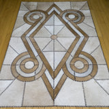 Native Light - Handmade Animal Hide Area Rug - 4' x 6' - The Loom
