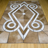 Native - Handmade Animal Hide Area Rug - 4' x 6' - The Loom