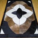 Star - Handmade Animal Hide Area Rug - 4' x 6' - The Loom