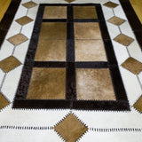 Window Light - Handmade Animal Hide Area Rug - 4' x 6' - The Loom
