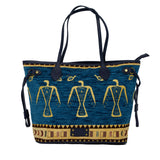 Cotton Carry All Bag Blue 2