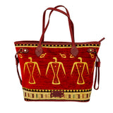 Cotton Carry All Bag Red 2