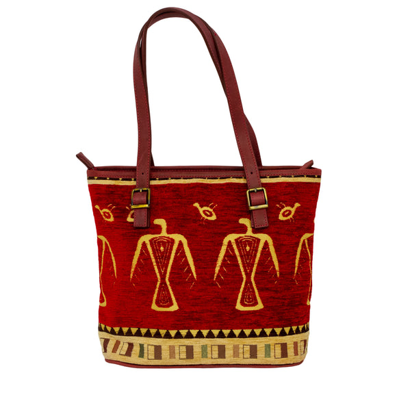 Cotton Tote Red 1