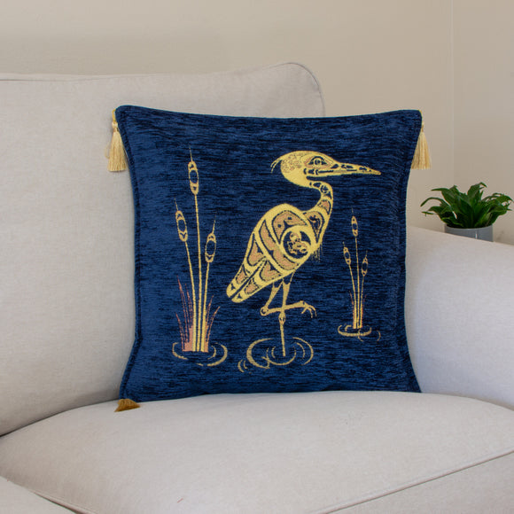 Heron Pillow Cover