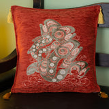 Jumping Salmon Pillow Cover