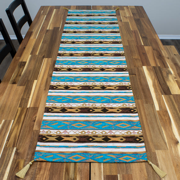 Salmon Stream Table Runner