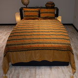 Salmon Stream Bedspread Set - The Loom