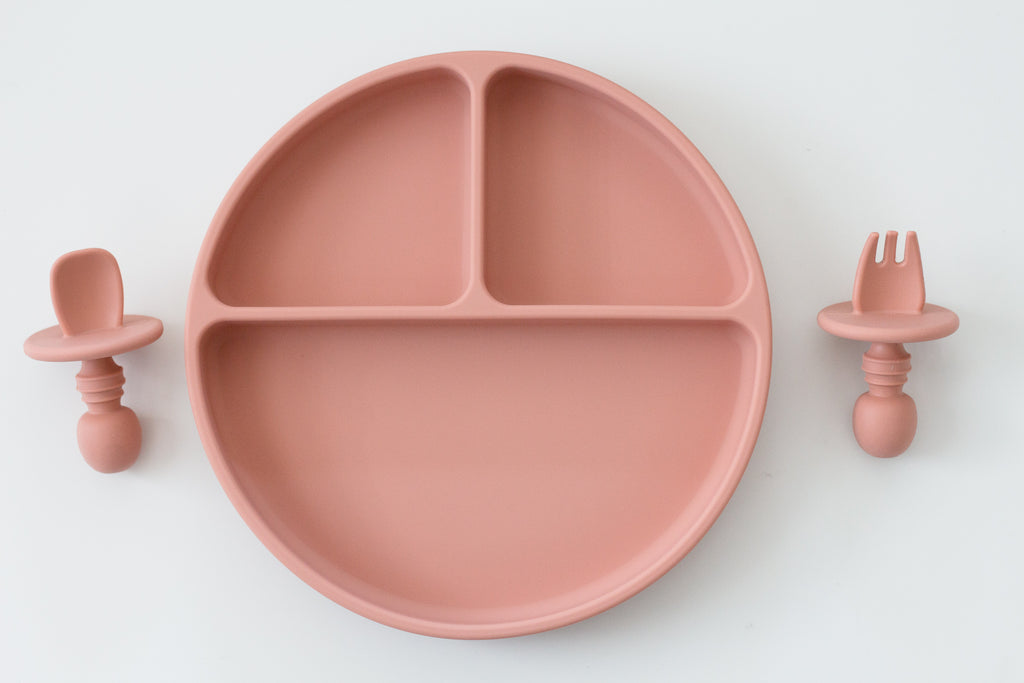 Baby Plate Set | Apricot