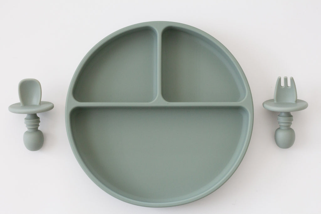 Baby Plate Set | Sage