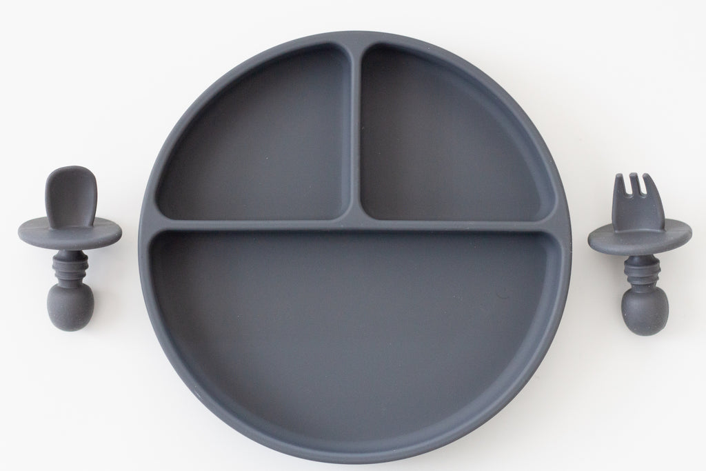 Baby Plate Set | Charcoal