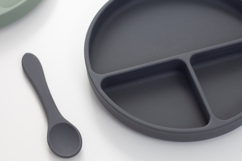 Toddler Plate Set | Charcoal