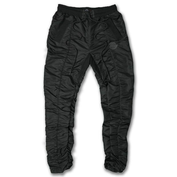 F2766 Frost Poly Sweatpants - Black